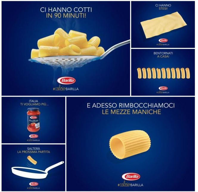 Real Time Marketing, comunicazione barilla